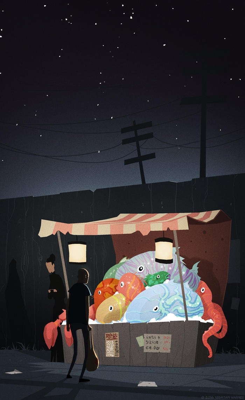 Fish Dream by SirSlaxalot