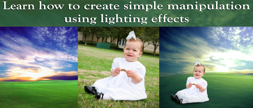 Create Simple Manipulation Using Lighting Effects by clippingpathindia