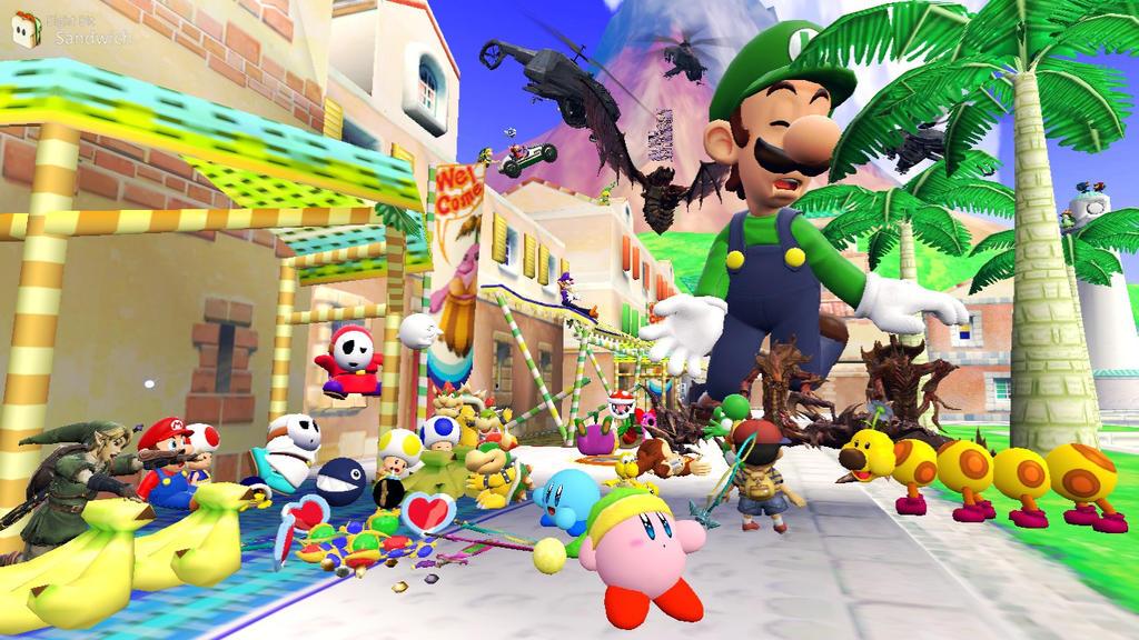 Garry's Mod | Super Mario Boards