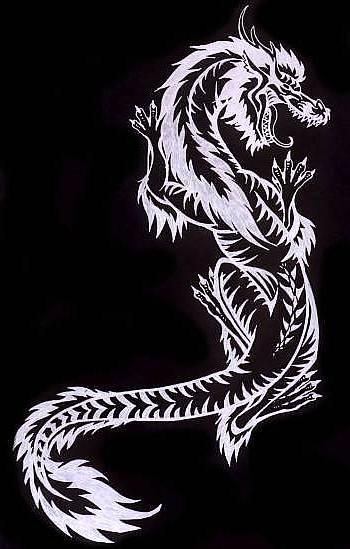 Dragon Tattoo Design by buckskinmare