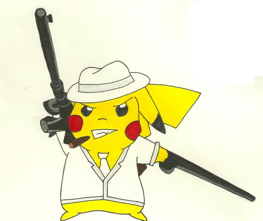 gangster pikachu - photo #8