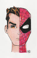 Peter Parker or Spiderman? by Atellix