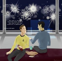 Happy new year Mr. Spock by Sortumavaara
