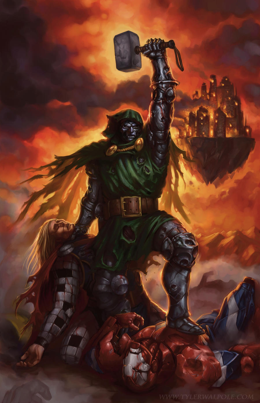 Doom...Victor by TylerWalpole