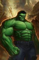 Hulk by TylerWalpole