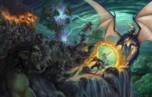 Fantasy Hero Cover by TylerWalpole