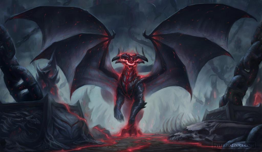 Blood of Dragons: Darkstone, Guardian of Woe by TylerWalpole