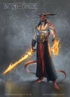 Dragonlord Sinn Concept Art by TylerWalpole