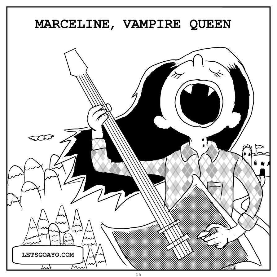 Marceline, Vampire Queen by nervousystem