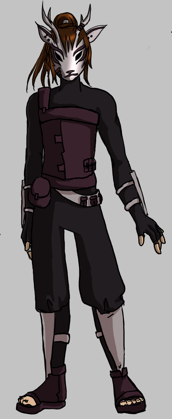 ANBU Naruto Male OC by BlookenBslk on DeviantArt