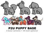 puppy base P2U - $3.50/350 points!