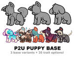 puppy base P2U - $3.50 or 350 points!