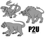 prehistoric bases p2u - $2.00 or 200 points!