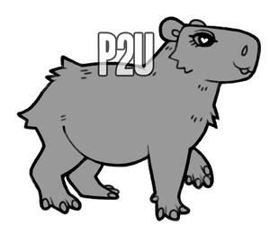capybara base p2u - $1.00/100 points!