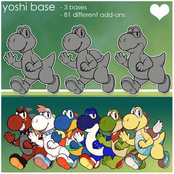 yoshi base p2u - $6.00 or 600 points! by thekingtheory