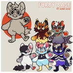 anthro furby base p2u - $5.00 or 500 points!