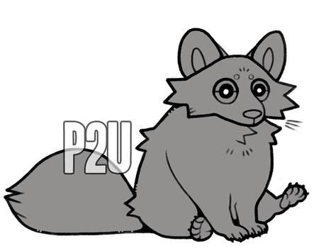 raccoon base p2u - $2.00/200 points!