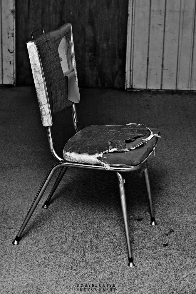 Old Broken Chair By R Louu