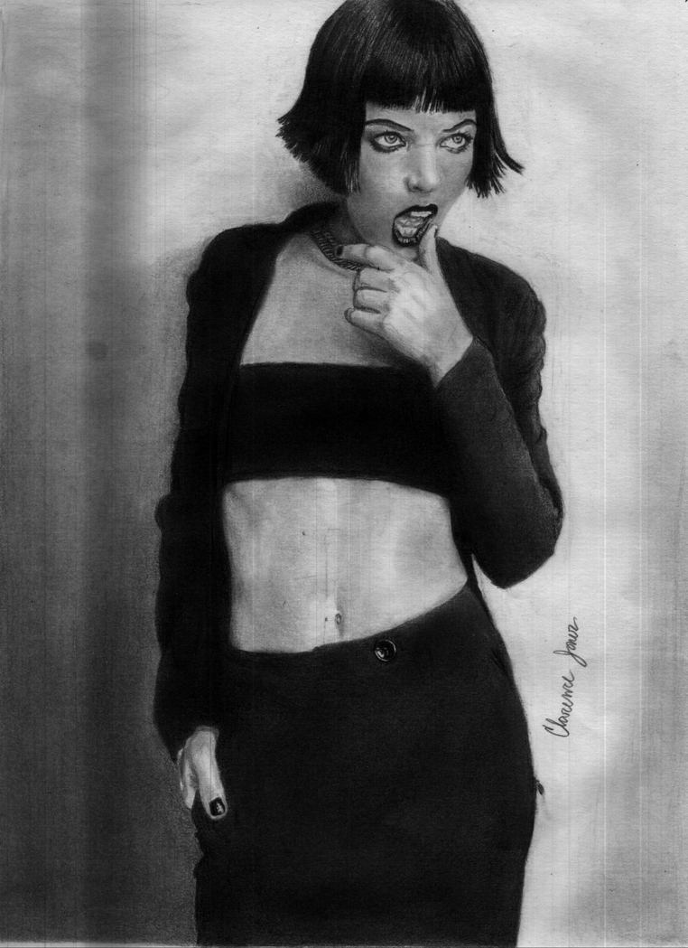 Milla Jovovich by juicethehedgehog
