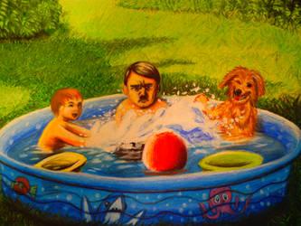 kiddie pool by juicethehedgehog