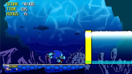 Sonic WIP by juicethehedgehog