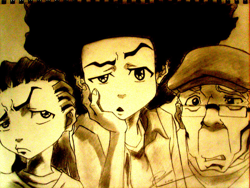 The Boondocks Rocks by Chrono-Kira