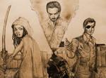 Three Walking Dead