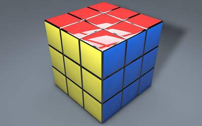 Rubik's Cube 3D (1). by BroVaR87