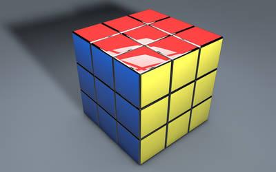Rubik's Cube 3D (2). by BroVaR87