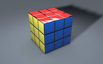 Rubik's Cube 3D (3). by BroVaR87