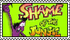 Shame of the Jungle Stamp by WumoWumo