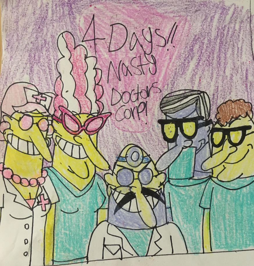 4 Days! Nasty Doctors Corp! by WumoWumo