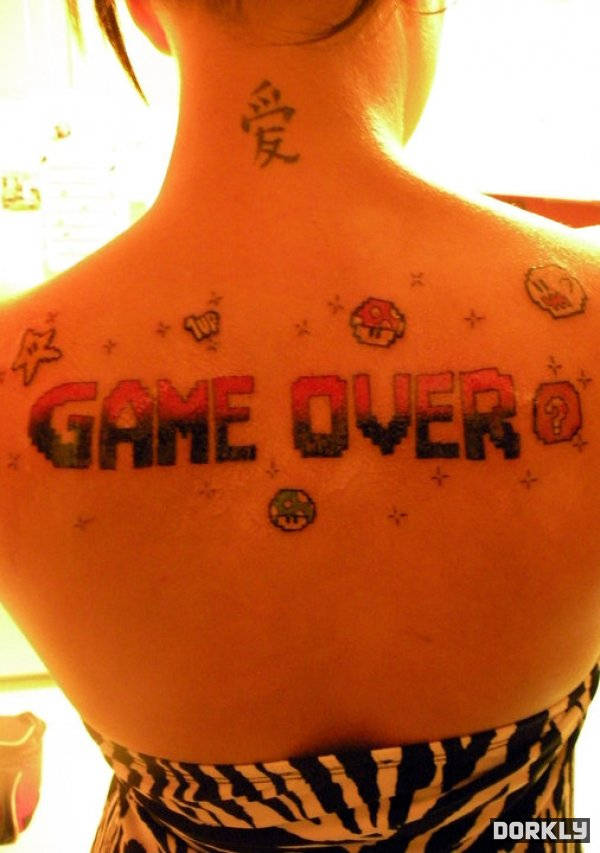 Gamer tattoos, Much respect by ~deejaywill on deviantART