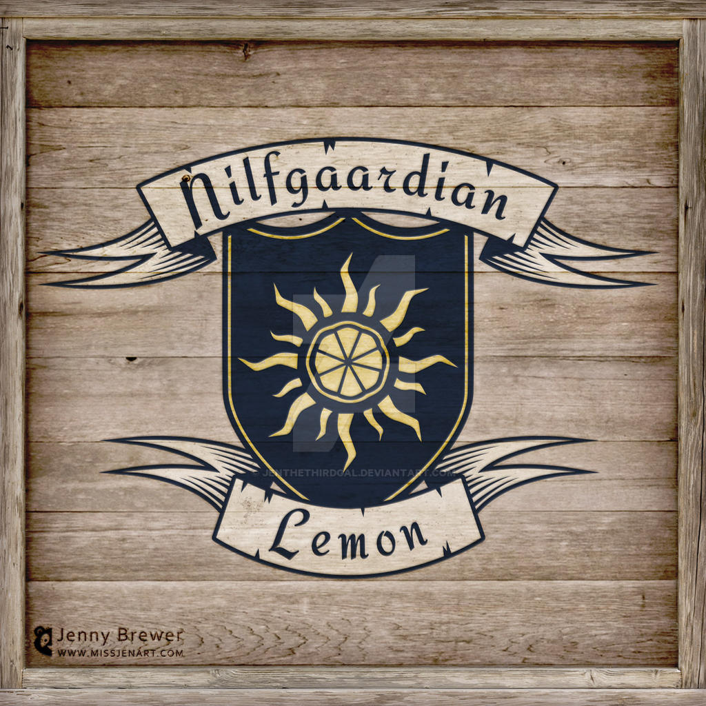 Nilfgaardian Lemon by JenTheThirdGal