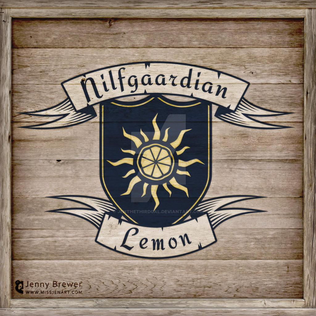 Nilfgaardian Lemon by JenTheThirdGal
