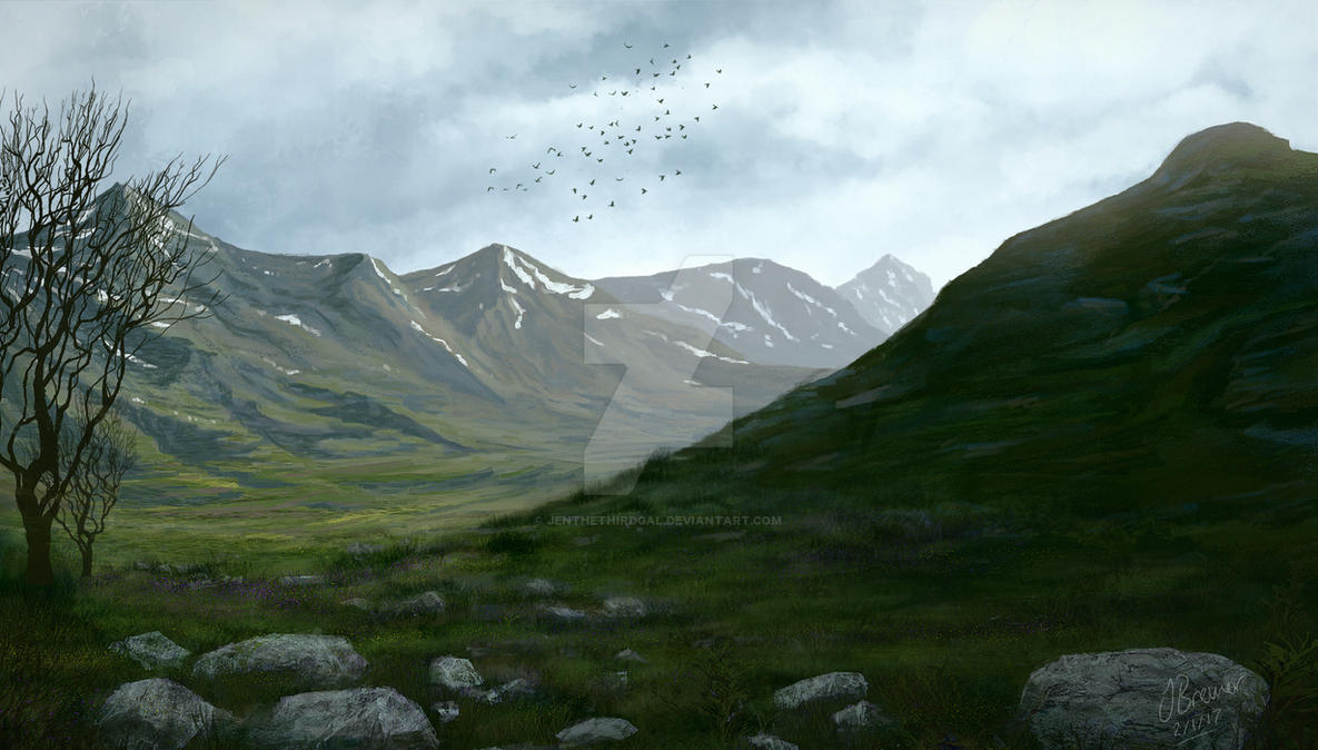 Norway Mountains by JenTheThirdGal