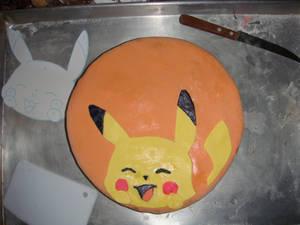 Pikachu cake x3