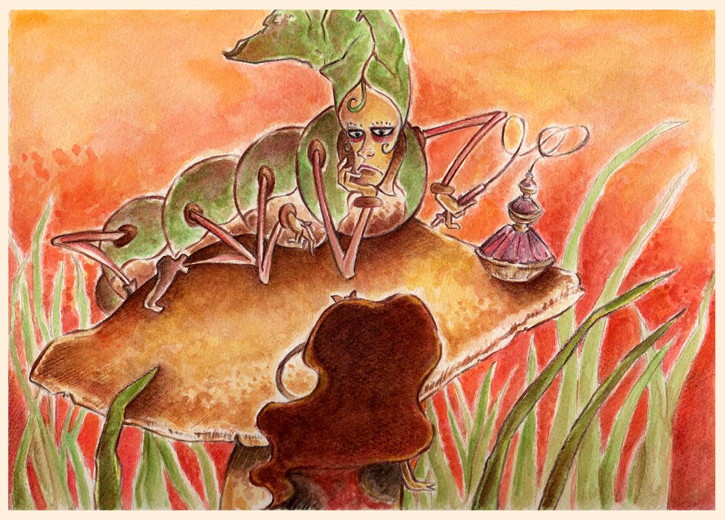Alice in Wonderland II by Nachan