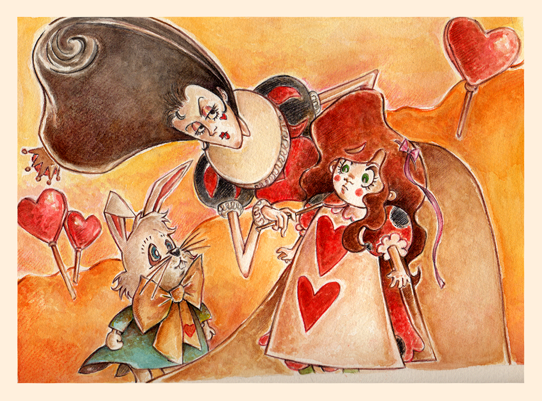 Alice In Wonderland V by Nachan