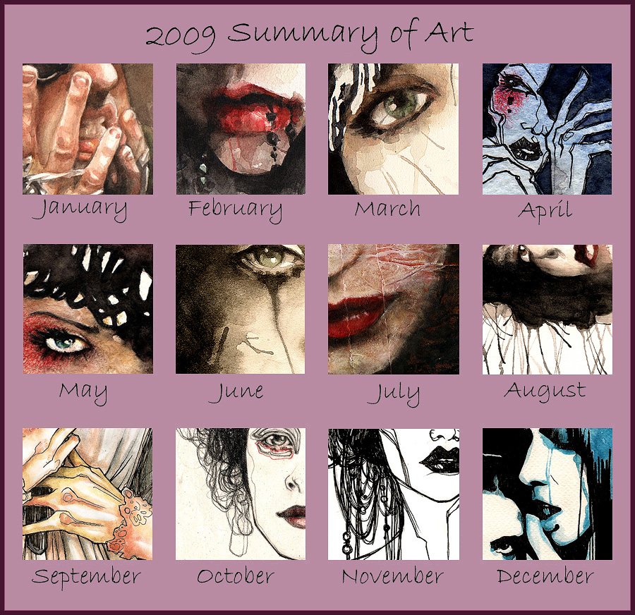 2009 Art Meme by Nachan