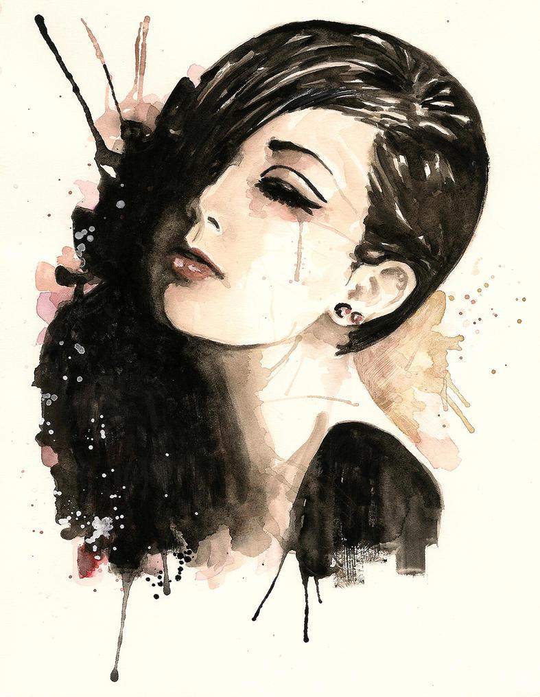 White shade of Black by Nachan