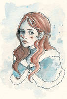 ASOIAF - Little Sansa Stark by Nachan