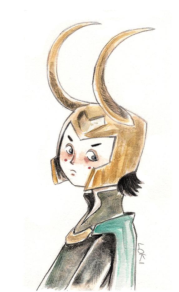 Mini Loki by Nachan