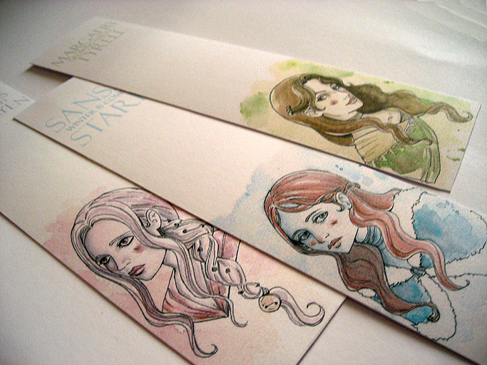 ASOIAF - Bookmarks by Nachan