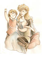 When you were a child... by Nachan