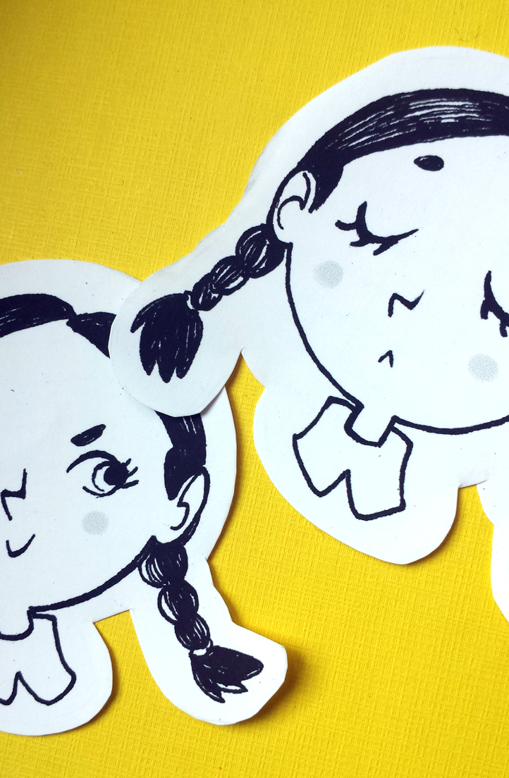 Wednesday Addams STICKERS! by Nachan