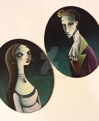 Little gothic portraits