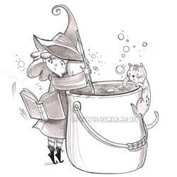 Streghetta e Micio - magic potion