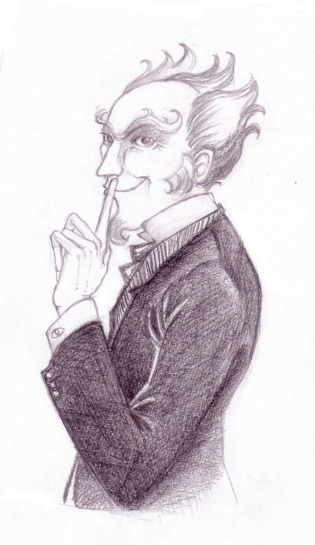 Count Olaf by Nachan on DeviantArt