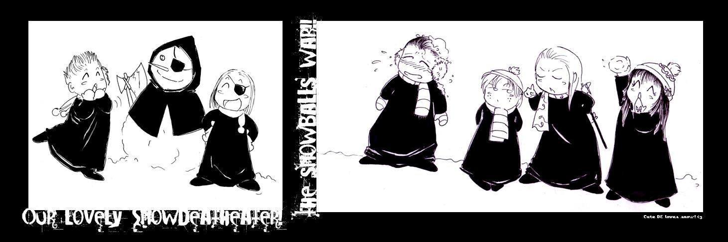 HP-Cute DE Loves Snow XD by Nachan